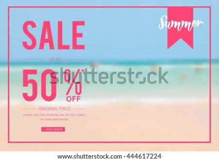 50 Off Discount Promotion Sale Brilliant Stock ...