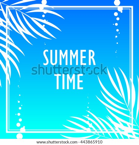 Summer Tropical print with 