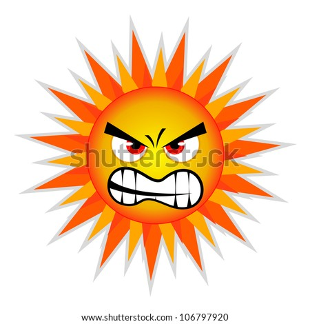 Sun Design Element Vector