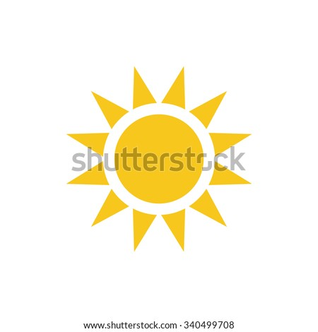 Sun Icon, Sun Icon Vector, Sun Icon JPG, Sun Icon JPEG, Sun Icon EPS, Sun Icon design - stock vector