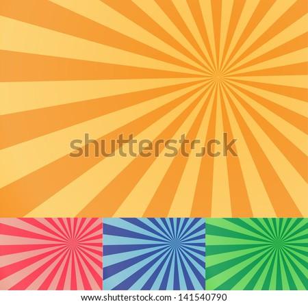 sun light - stock vector