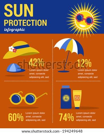 Sun Protection Stock Vectors Amp Vector Clip Art Shutterstock