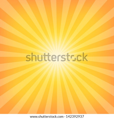 Sun Sunburst Pattern. Vector illustration