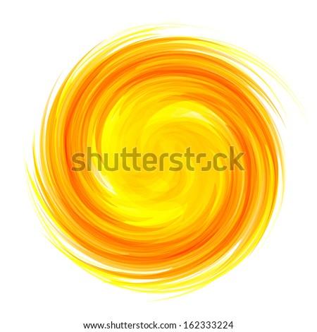 Sunburst abstract vector  - stock vector