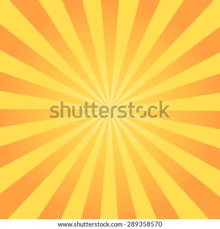 Sunburst Pattern ray vector illustration - stock vector
