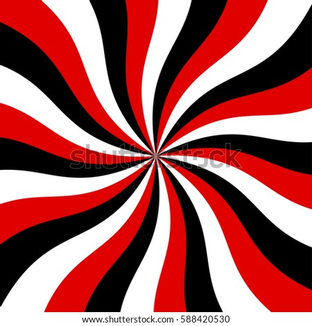 Sunburst red black and white vector background abstract swirl graphic design for wallpaper