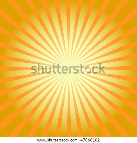 sunburst retro vector