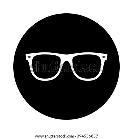 Sunglasses Logo Black And White Rayban Stock Im...