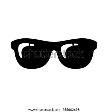 Sunglasses Vector Icon - stock vector