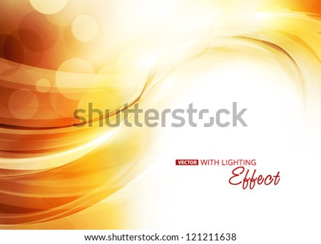 Sunlight. Abstract background. Vector - stock vector