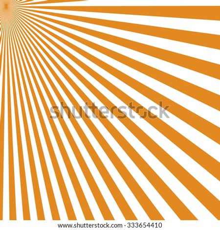 sunny background, rays of the sun at its zenith - stock vector