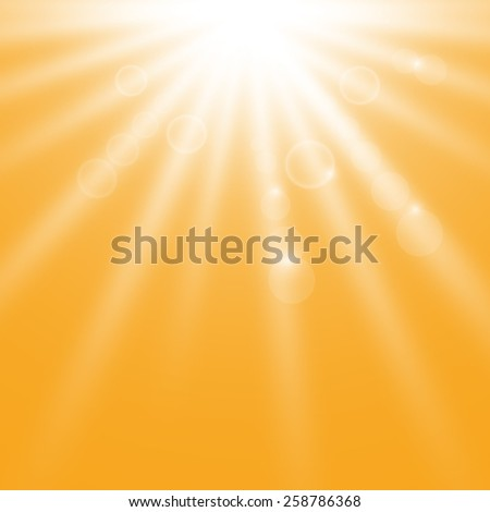 Sunshine background - stock vector