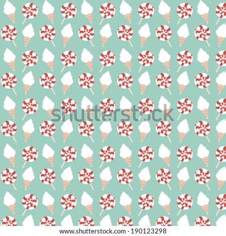 super baby pattern - stock vector