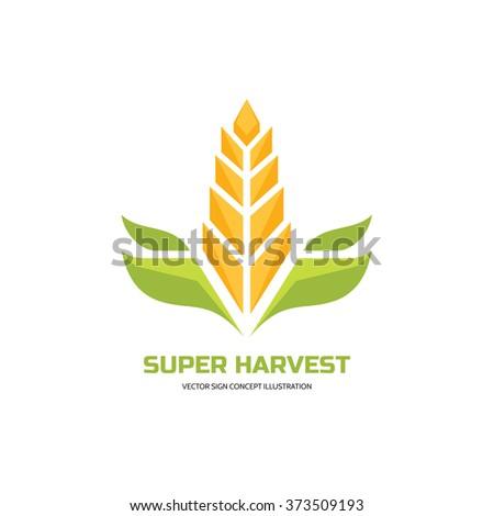 wheat logo stock images royaltyfree images amp vectors
