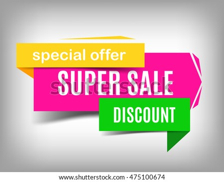 Super sale banner design. Sale art. Sale poster. Discount poster, special offer. Vector sale illustration, Sale eps 10. Sale web element. Sale Image for advertisement, promotion and other purposes.