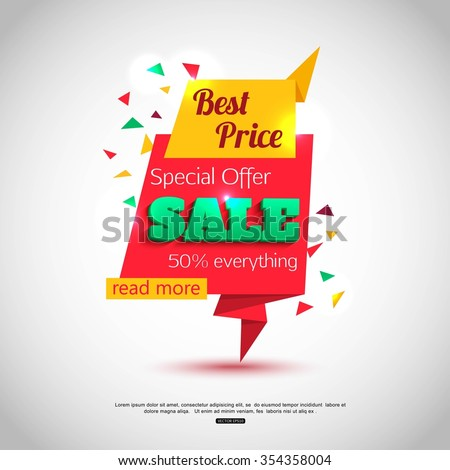 Super Sale Banner Design. Super Sale Vector Tag Banner can use for promotion. Super Sale Background for your  promotional brochure or booklet, posters, advertising shopping flyers, discount banners. - stock vector
