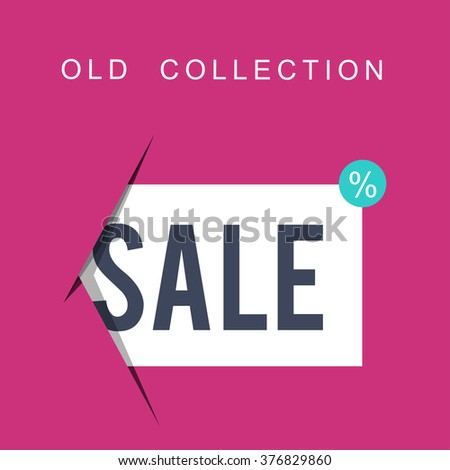 Super Sale banner on colorful background. Sale background. Big sale. Sale tag. Sale poster. Sale vector. Geometric design. Super Sale and special offer.  - stock vector
