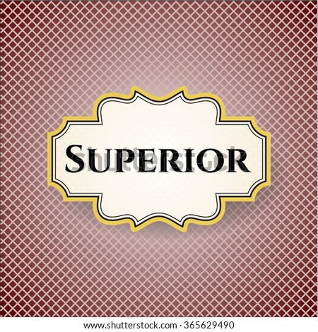 Superior colorful card - stock vector