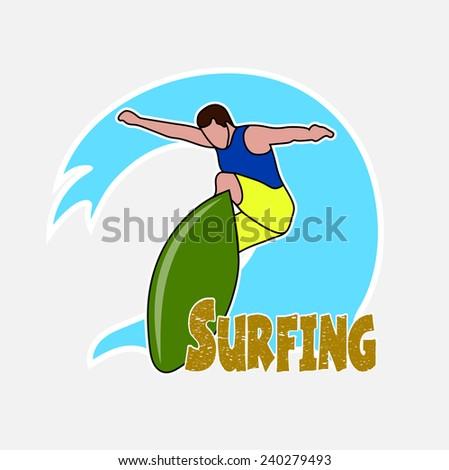 Hawaii Surfer Stock Vectors, Images & Vector Art | Shutterstock
