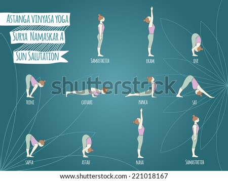 surya namaskar stock images royaltyfree images  vectors