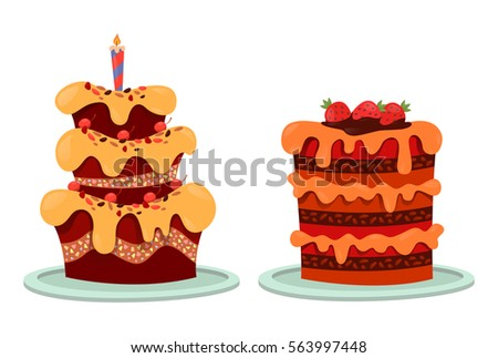 Happy Birthday Cupcake Stock Images RoyaltyFree Images Vectors