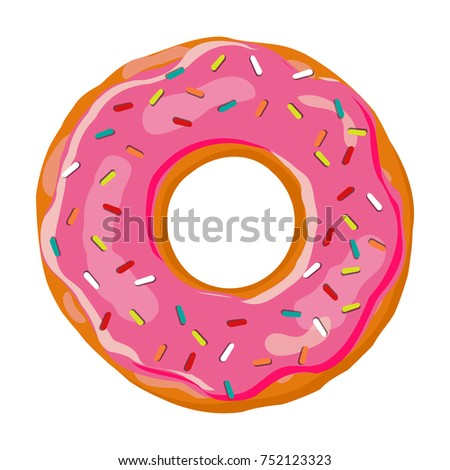 Glazed stock images royalty free images vectors for Mosquito donuts