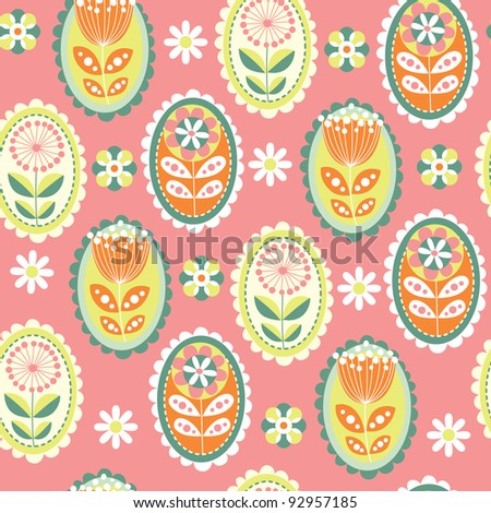 sweet flowers pattern