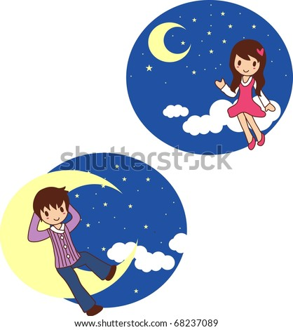 Sweet Love with the Sweet Lovers - stock vector