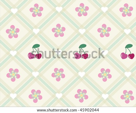 Sweet Pattern Design - stock vector