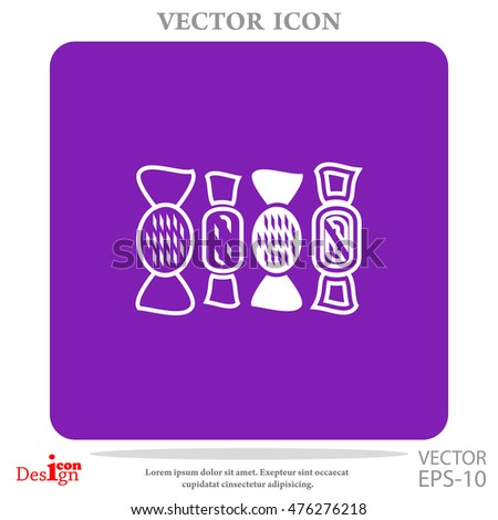 sweets vector icon