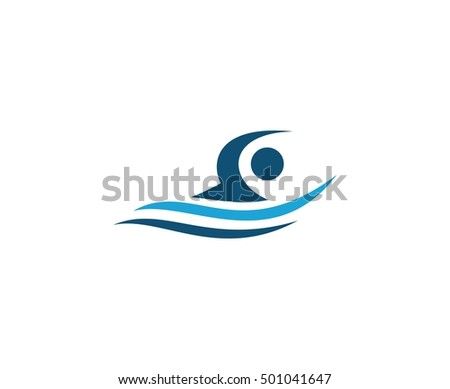 Swimming logo stock images royalty free images vectors shutterstock - Swimming pool logo design ...