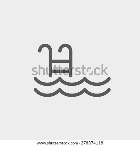 Swimming Pool Steps Stock Images Royalty Free Images Vectors