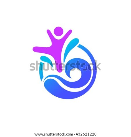 pool logo stock images royaltyfree images amp vectors