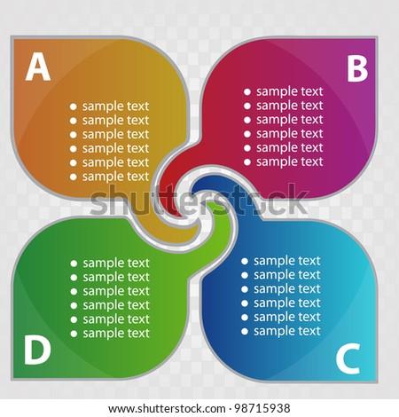Swirl design - stock vector