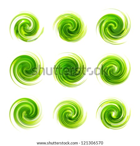 Swirl elements� for design. Vector illustration.