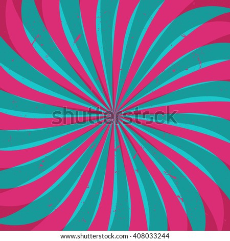 Swirl, vortex background. Rotating spiral. - stock vector