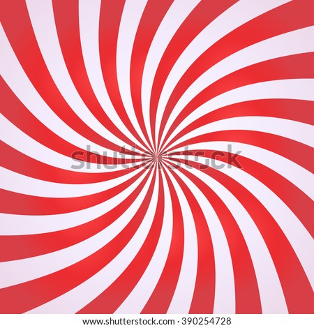Swirling radial pattern background. Vector illustration for swirl design. Vortex starburst spiral twirl square. Helix rotation rays. Converging psychadelic scalable stripes. Fun sun light beams. - stock vector