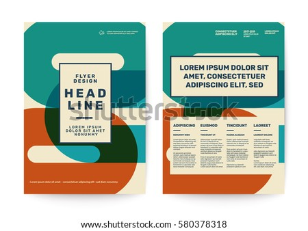 Swiss style background for Corporate Identity Template Poster Brochure Flyer design Layout vector template