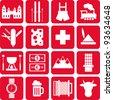 Switzerland pictograms - stock