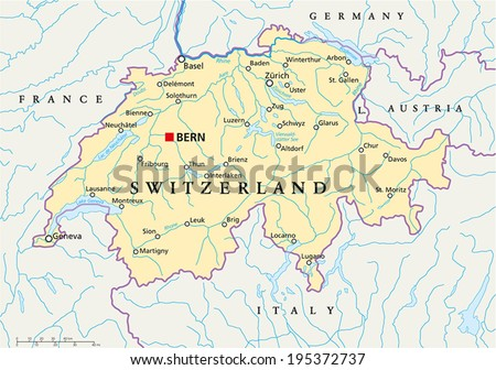 Map Of Schwyz Stock Images RoyaltyFree Images Vectors Shutterstock