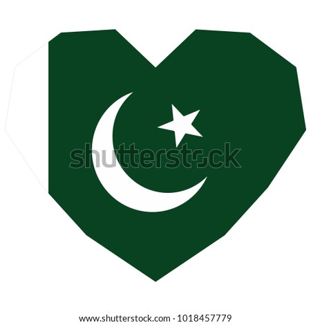 Symbol Love His Country Icon Independence Stock Vector Royalty Free