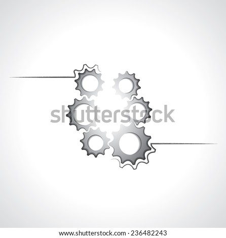 Symbol Mechanical Elements Stock Vector 236482243 Shutterstock
