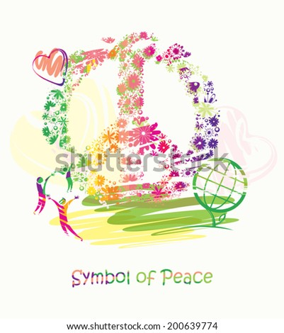 Symbol of Peace. - stock vector
