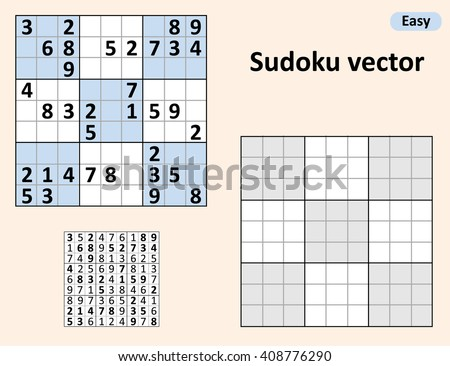 Sudoku Stock Images RoyaltyFree Images  Vectors  Shutterstock