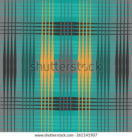 symmetry abstract background; stripes blue grey orange