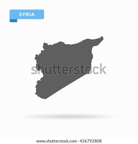 Syria map. Grey Syria map. Similar Syria map. Syria map blank. Syria map vector. Syria map flat. Syria map clean. Syria map art. Syria map infographic. Syria map jpg. Syria map jpeg. Syria map eps10. - stock vector