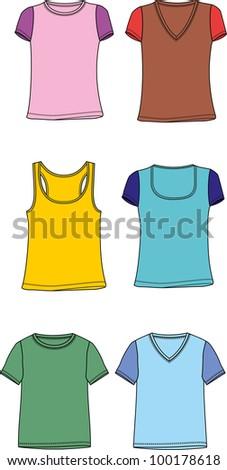t-shirt design - stock vector