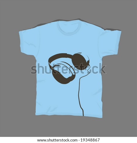 t-shirt design 04 - stock vector
