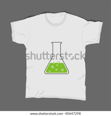 t-shirt design 12 - stock vector