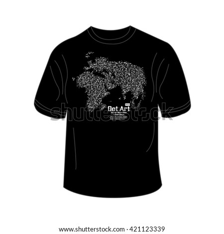 Tshirt design world map point vector stock vector royalty free t shirt design with world map point vector illustration gumiabroncs Images